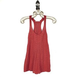 BANANA REPUBLIC | Crochet Halter Tunic Tank Small